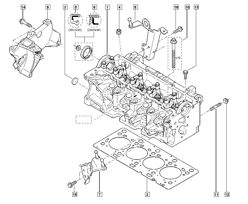 Laguna iii bt1j manual 11 upper engine cylinder head valve