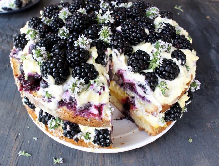 Recipe Lemon Cake Mascarpone Berry