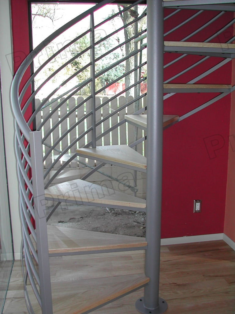 High Quality Prefabricated Spiral Staircase Outdoor Metal Spiral Stairs For Sale – Stairs | Spiral Staircase For Sale