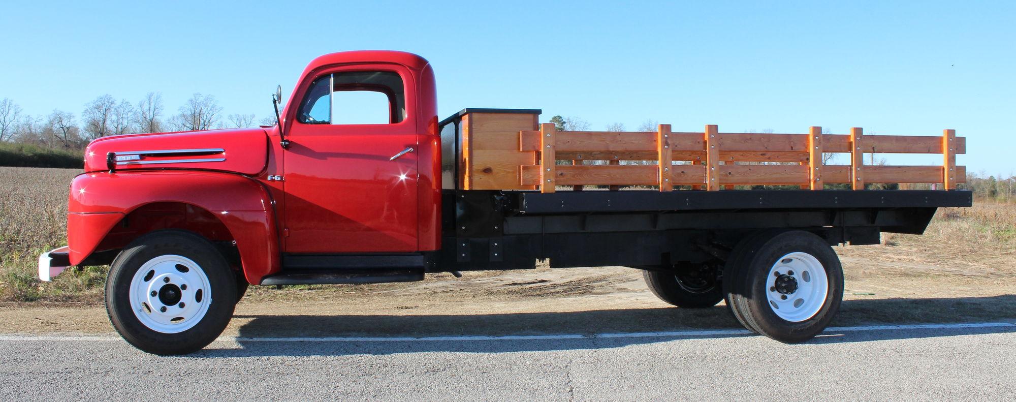 1949 Ford F6 Dump Truck