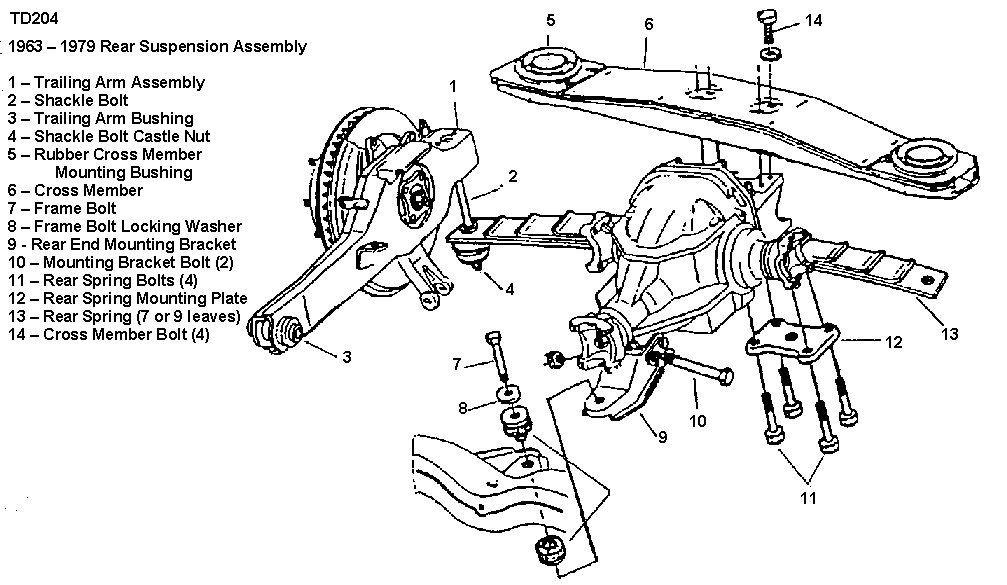 C3 Corvette Rear Differiantial Diagram