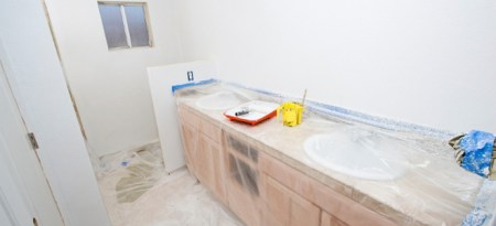 How to Remove a Sink to Lay Bathroom Floor Tiles   DoItYourself com How to Remove a Sink to Lay Bathroom Floor Tiles How to Remove a Sink to Lay  Bathroom Floor Tiles