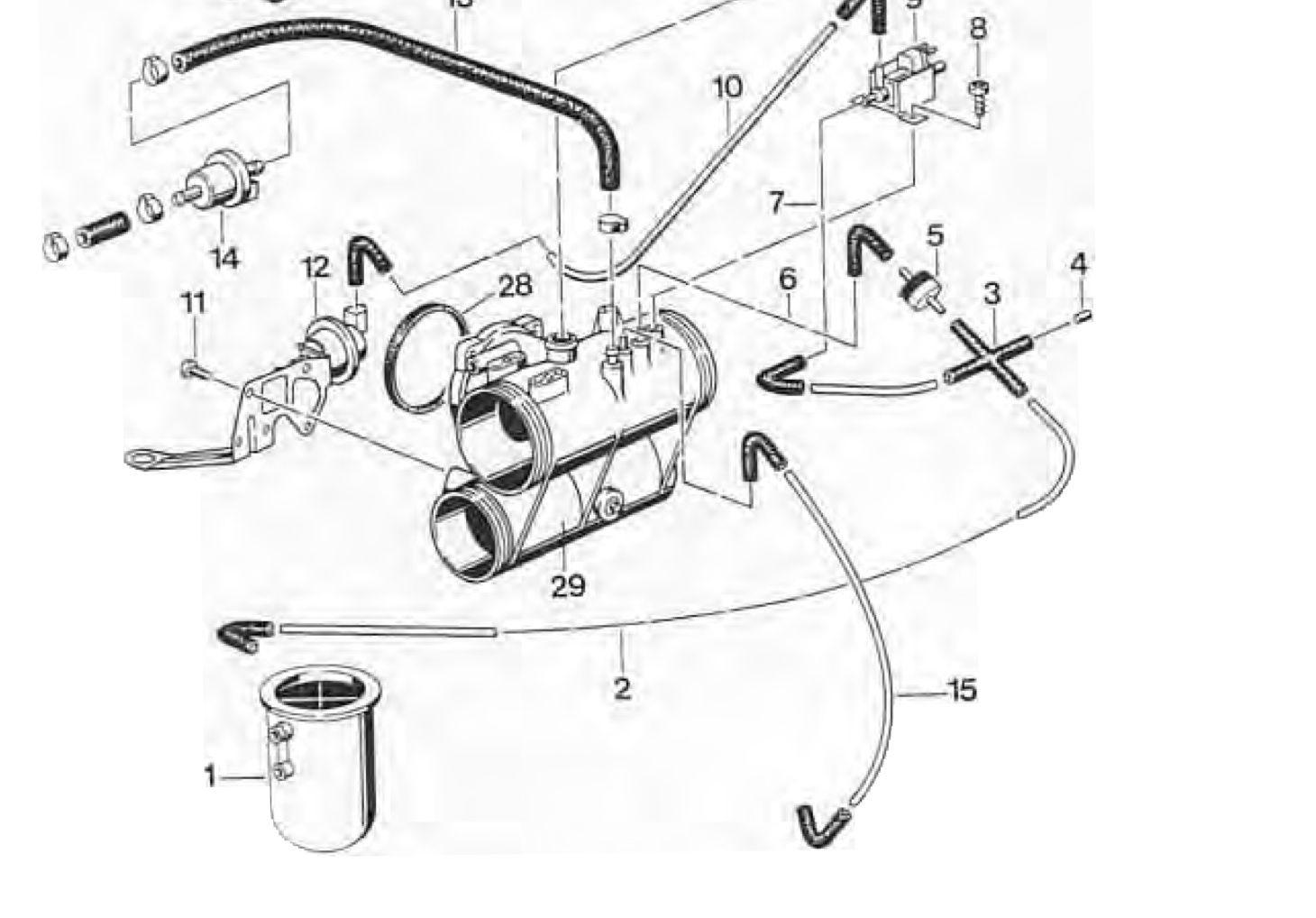 Vacuum leak time dependency