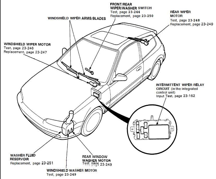 2000 Mercury Villager Vacuum Diagram
