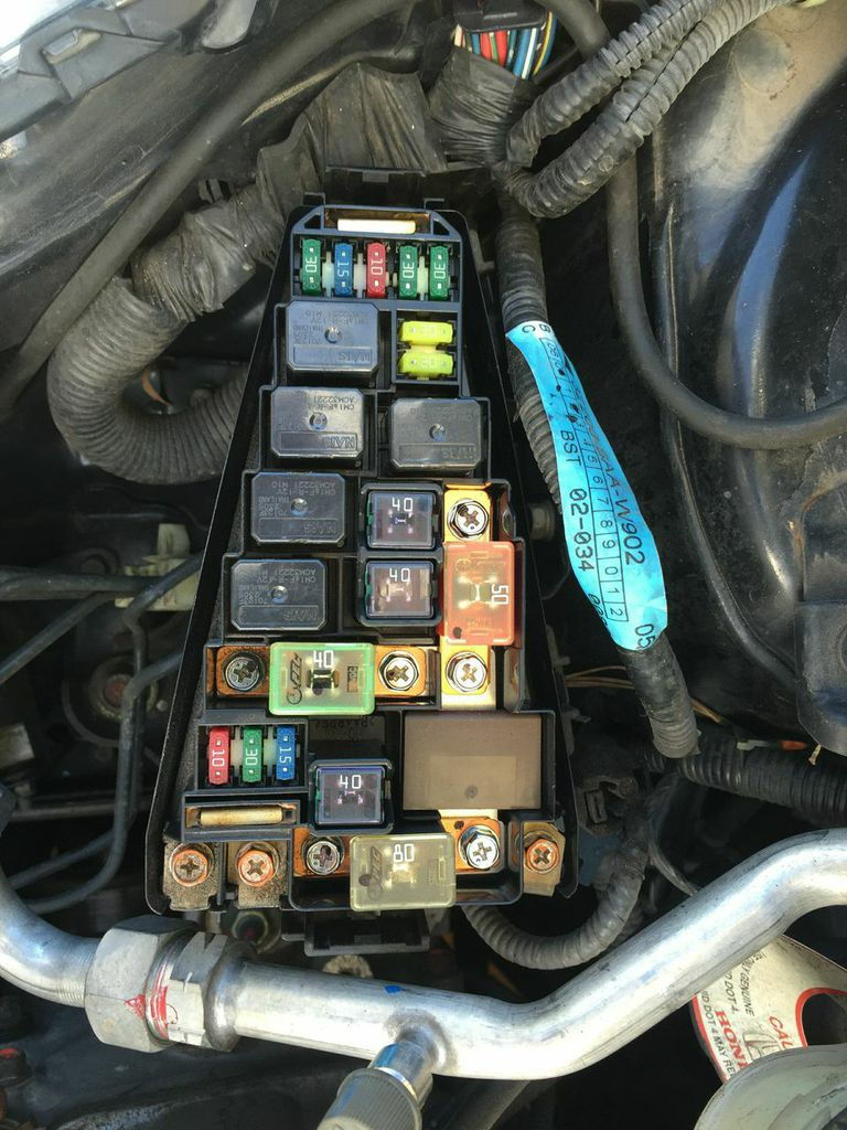 Nissan Versa Fuse Box Diagram 2012