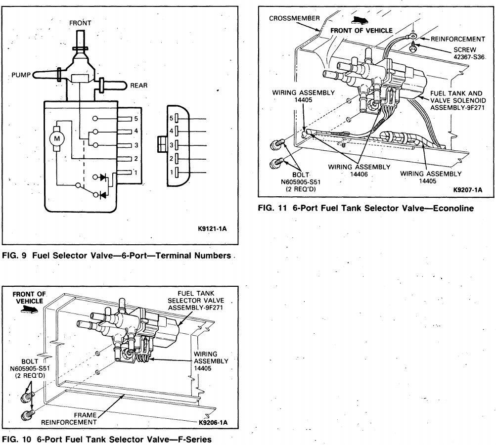 1989 Ford Bronco 2 Wiring Diagrams Ii Diagram