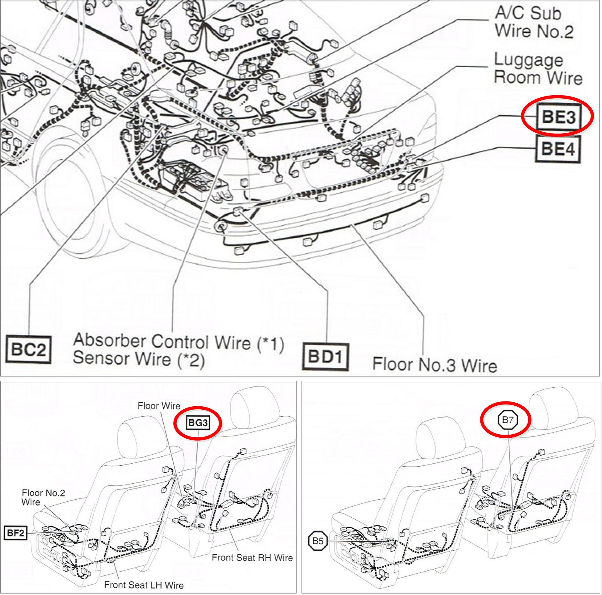 Lexus Is 300 02 Sensor Diagram Circuit