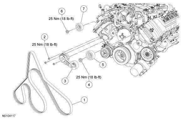 F 350 Crankshaft Position Sensor