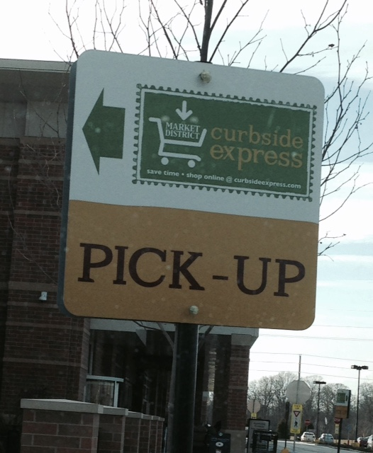 Grocery Shop Online Pickup Store