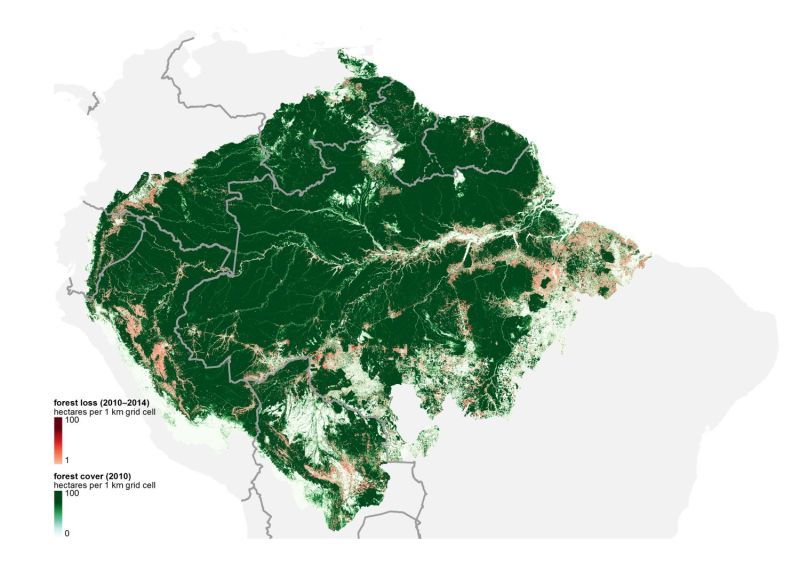 These 7 maps shed light on most crucial areas of Amazon ...