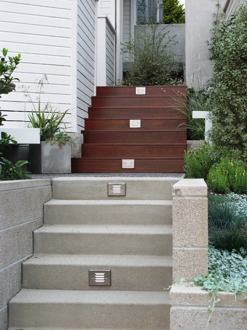Magnificent Outdoor Stair Designs Ccd Engineering Ltd   Home Design With Outside Stairs   Elevation   House Front Gate Wall   Double L Shaped Staircase   Outside View   Residential