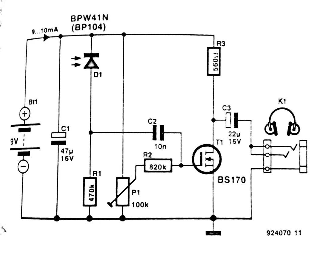 Infrared Transmitter And Receiver Circuit Ir