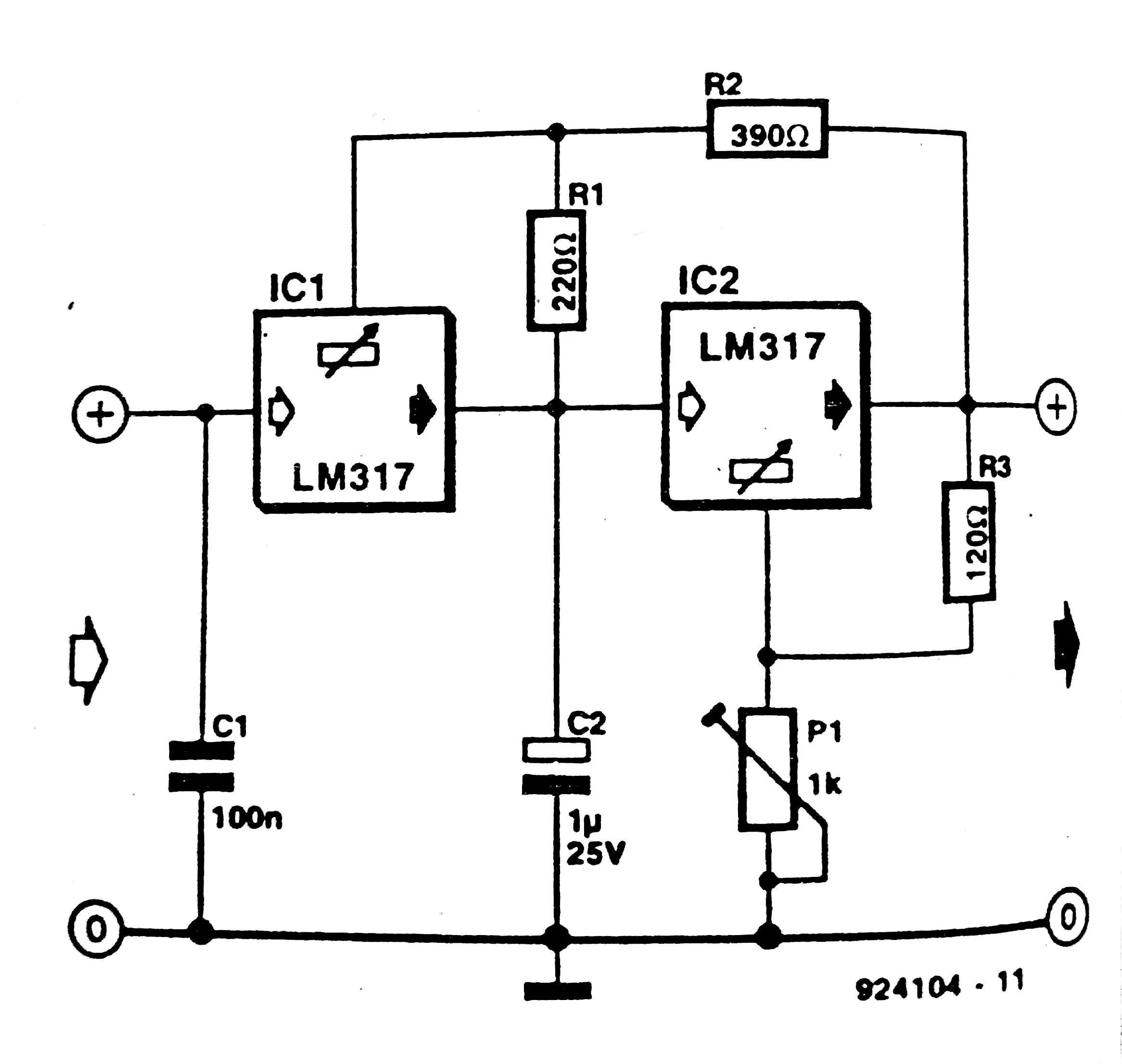 Lm317t Current Regulator Circuit