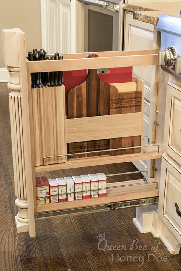 Amazing And Unique Hidden Kitchen Storage Ideas Citchen