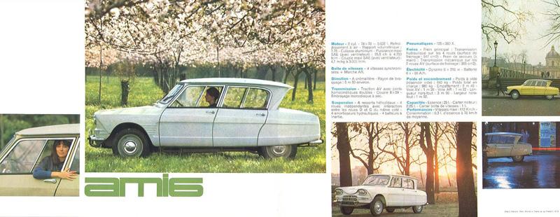 1963 Citro 235 N Ami 6 Brochure
