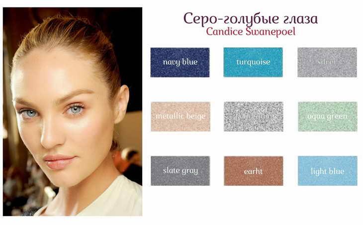 नीली छाया के साथ आंखों को कैसे चित्रित करें