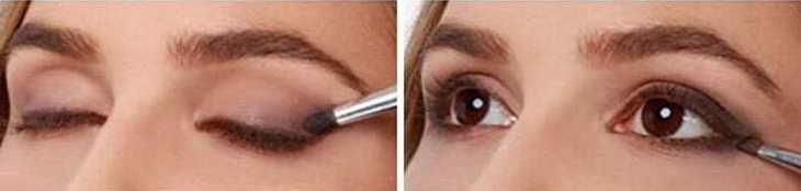 नीली आँखों को छाया के साथ कैसे चित्रित करें