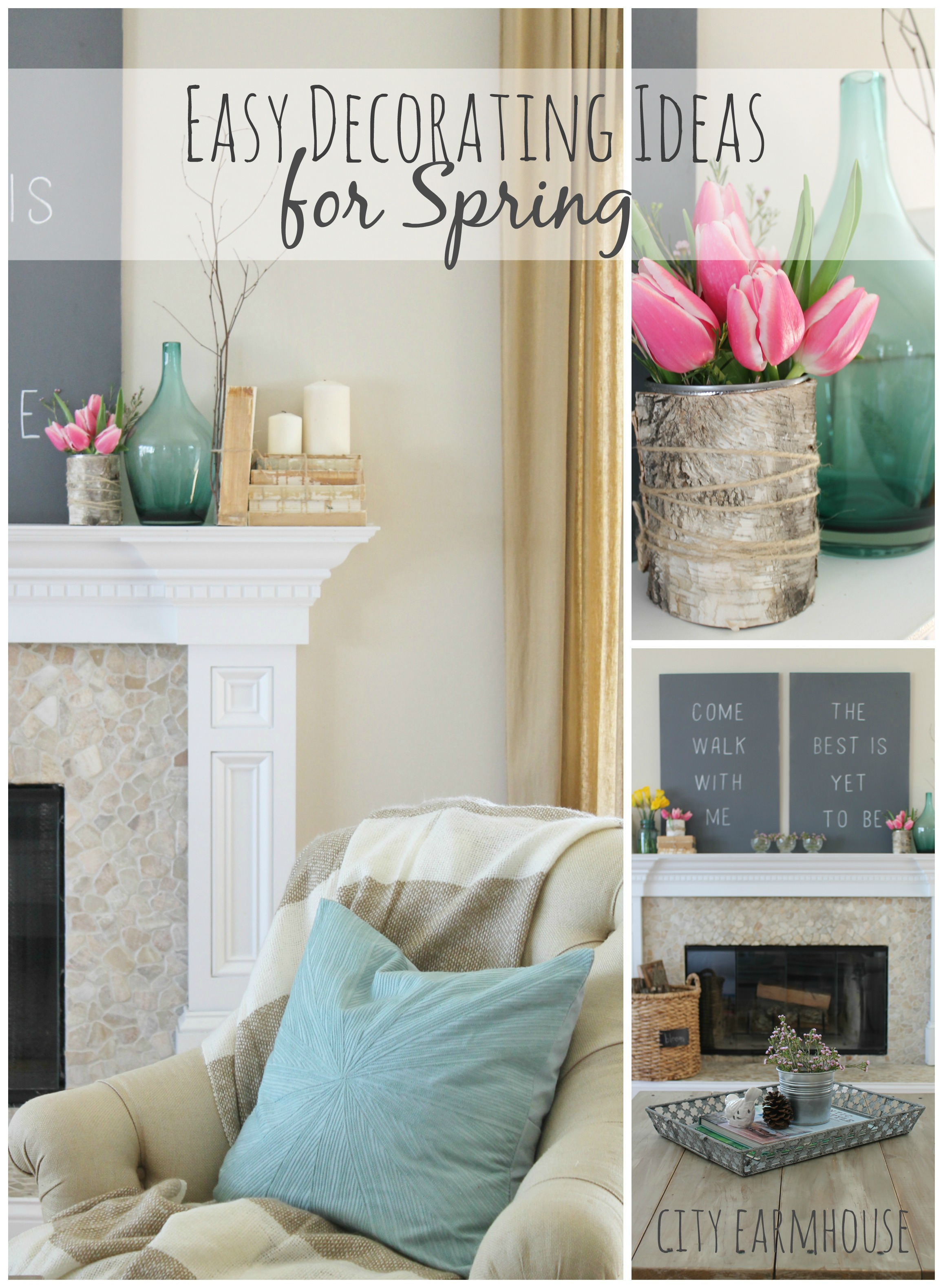 Seasons Of Home  Easy Decorating Ideas for Spring   City Farmhouse Seasons of Home Easy Spring Decorating Ideas  City Farmhouse  1