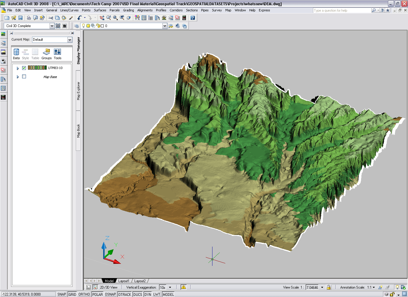 You know when we tell you that Map 3D is included with Civil 3D     ve 1 png