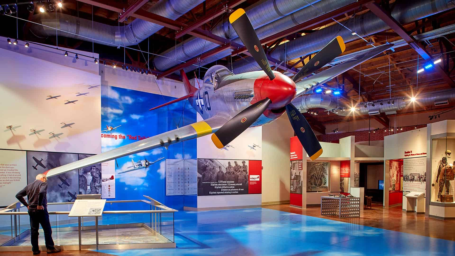 Tuskegee Airmen National Historic Site   US Civil Rights Trail Alabama      Tuskegee      Tuskegee Airmen National Historic Site