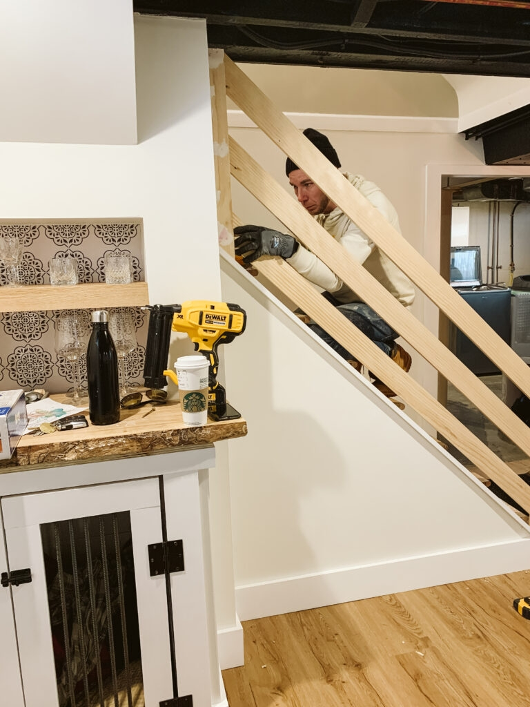 How To Build A Modern Horizontal Railing Clark Aldine | Diy Modern Stair Railing | Wall Mount | Cable | Model Modern Staircase | Different Style | Contemporary