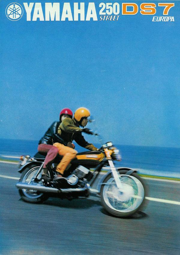 Yamaha Sales Brochures Classic Motorbikes