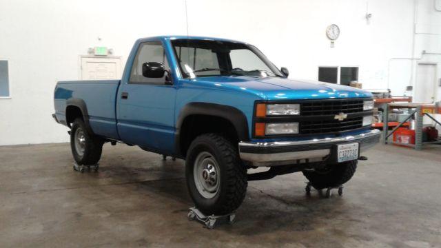 1991 Chevy K2500 4x4 98k Miles Zero Rust New Paint Tires
