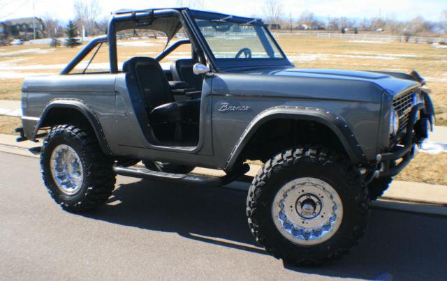 Early Bronco Wheel Flares