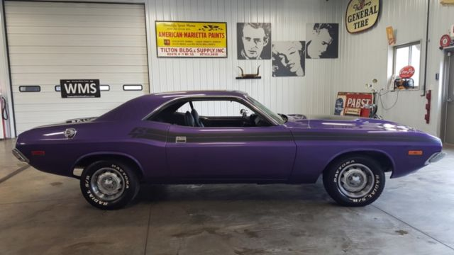 73 Plum Crazy Purple Plymouth Cuda R T 318 360 440 Auto