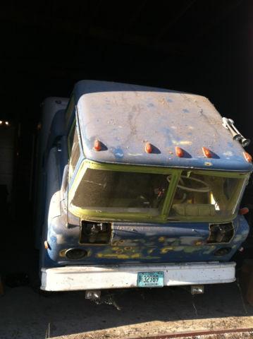 1961 Ford Cab Over Engine Tilt Cab Ramp Door 18 Foot Box