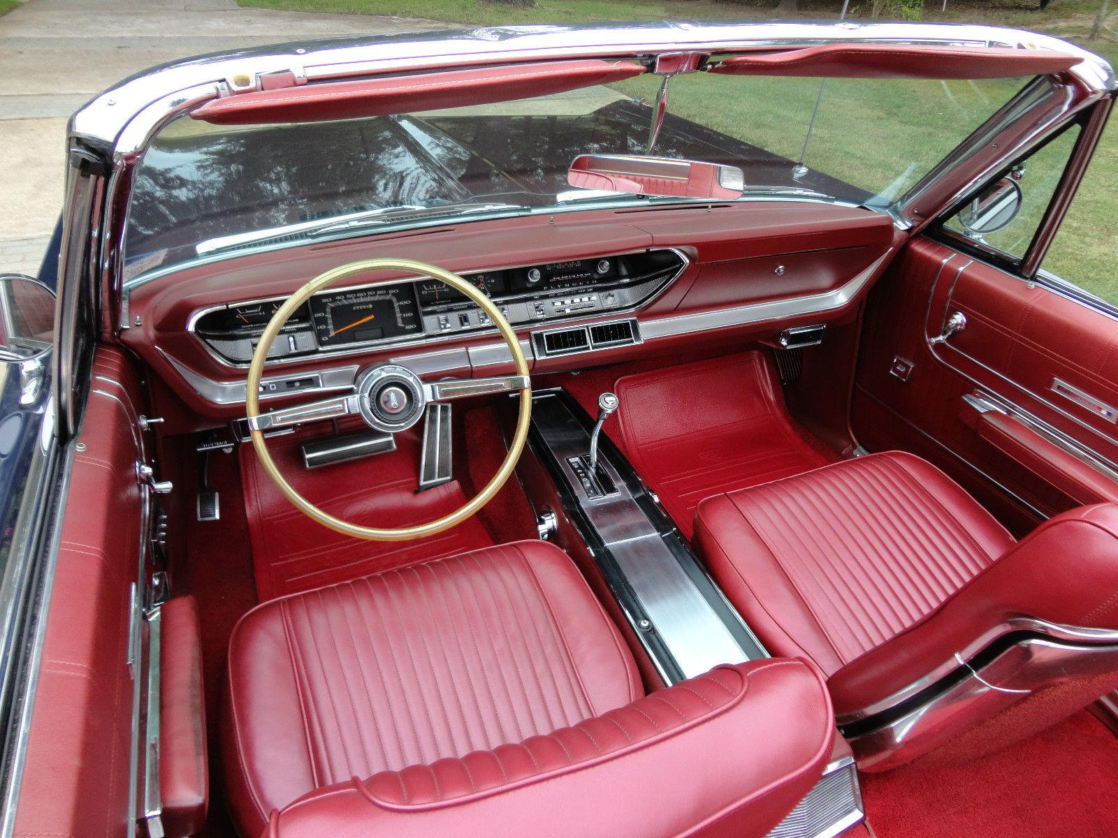 1967 Plymouth Sport Fury Iii Convertible 63 000 Original