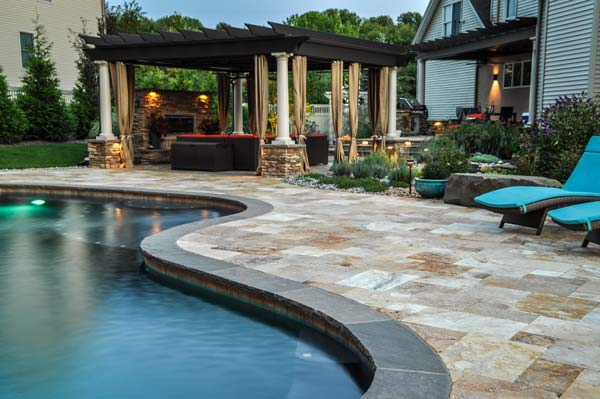 Landscape Design Services Pool Patio Pergola Clc