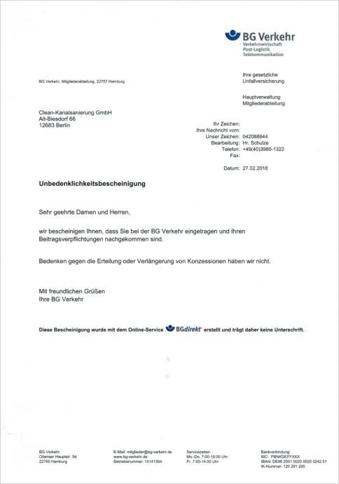 Clean-Kanalsanierung GmbH