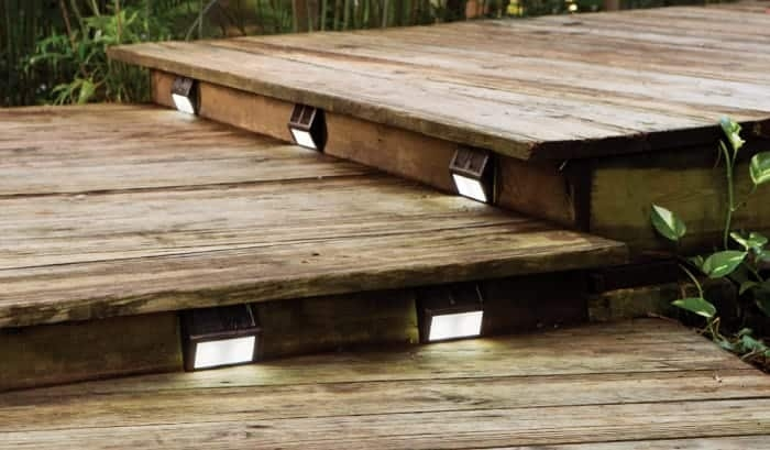 10 Best Solar Step Lights Reviewed And Rated In 2020 | Best Wood For Outdoor Stairs | Deck Railing | Stair Stringer | Handrail | Staircase | Railing
