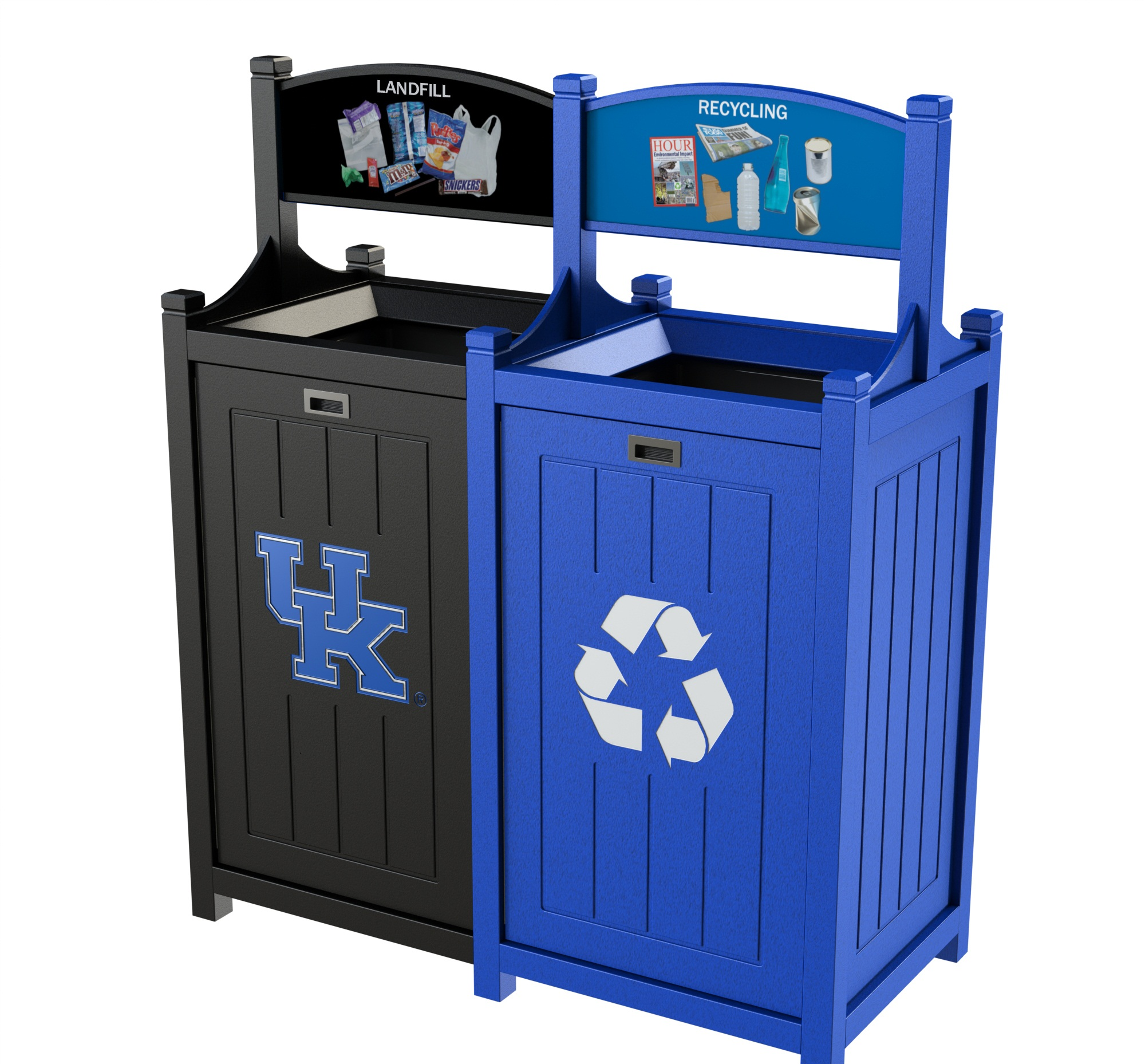 Stadium Bin Recycling And Waste Containers Cleanriver