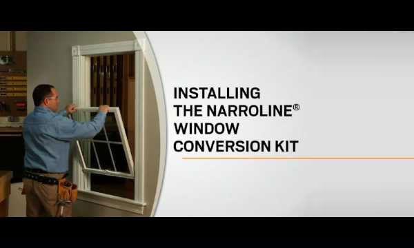 Andersen Narroline Sash Conversion Kits Indianapolis
