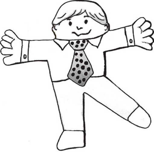 flat stanley coloring page # 52