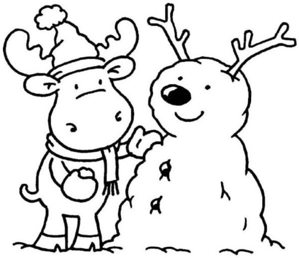 winter coloring pages free printable # 10