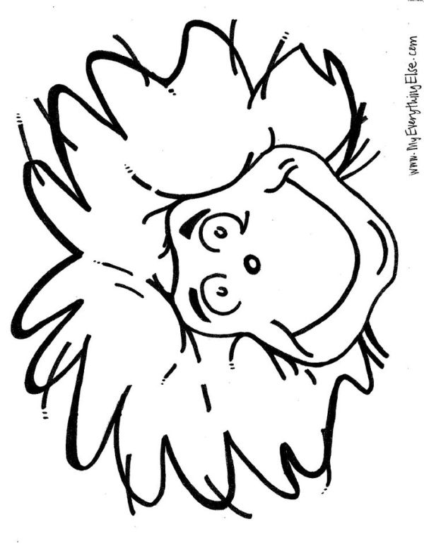 thing 1 and thing 2 coloring pages # 7