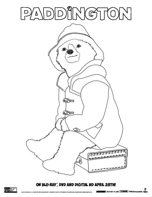 paddington bear coloring pages # 18