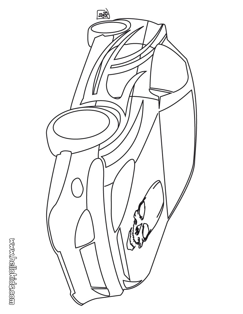 Race Car Coloring Pages Clip Art Library