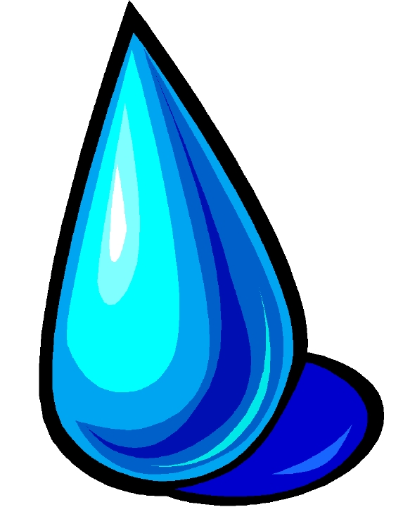 Raindrops Clip Art Animated