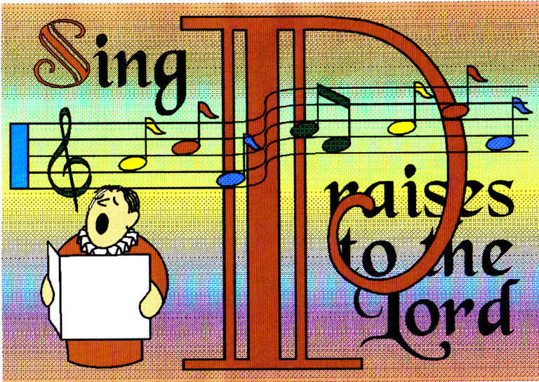 Serve Sing Pray Clip Art