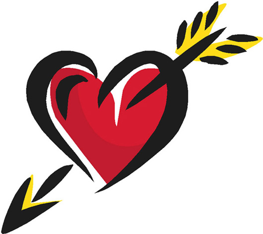 Free heart arrow download free clip art free clip, coloring pages love hearts