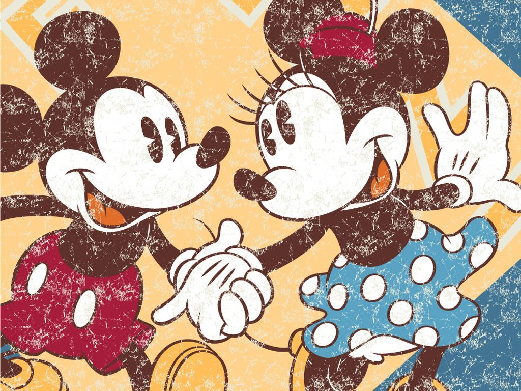 Drawings Mickey And Mouse Minnie Kissing