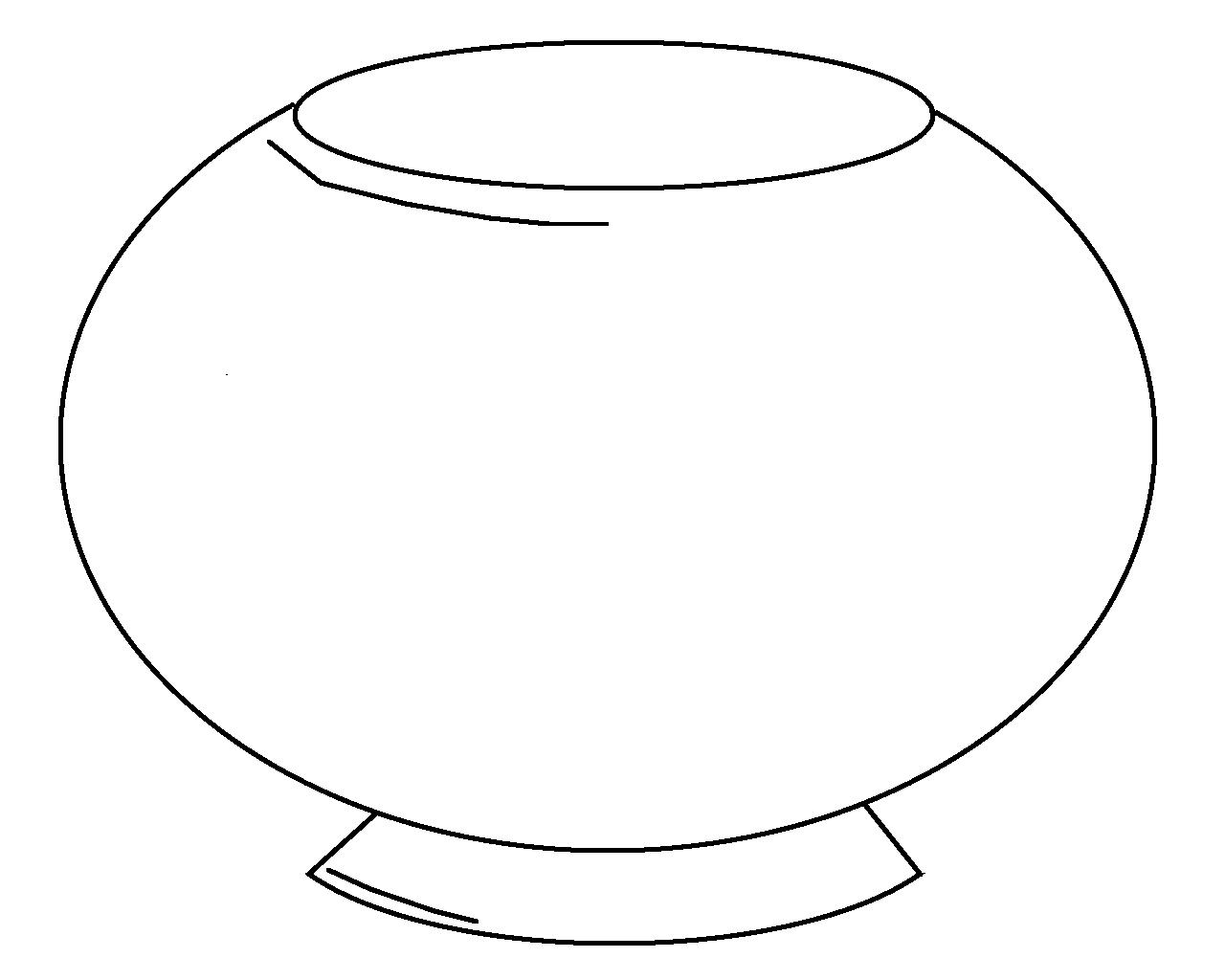 Fish Bowl Template Color