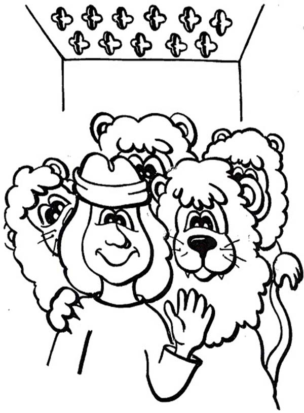 Pages Coloring Between Lions