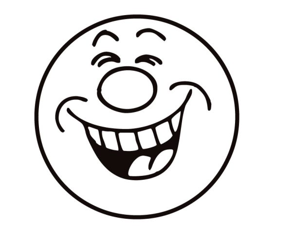 happy face coloring page # 14