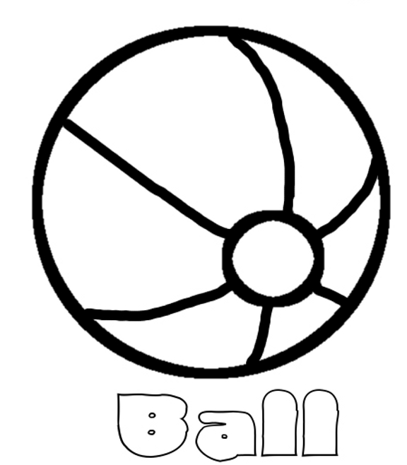 ball coloring pages # 20