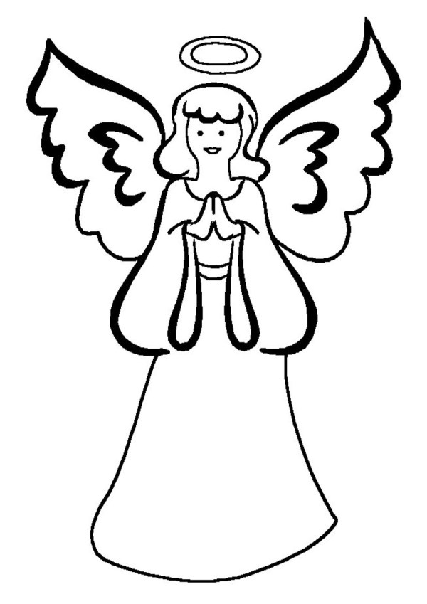 angels coloring pages # 78